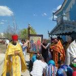 """SAM 0302 150x150 La mănăstirea Ţâpova a fost adusă o icoană cu chipurile """"Sf. Ioachim şi Ana"""""""