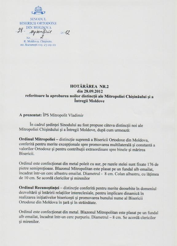 28 576x800 şedinţa Sinodului Bisericii Ortodoxe din Moldova 28 septembrie 2012