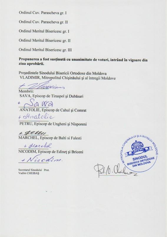 42 567x800 şedinţa Sinodului Bisericii Ortodoxe din Moldova 28 septembrie 2012