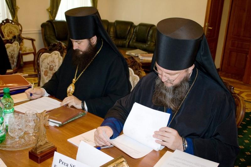 IMG 8834 800x533 şedinţa Sinodului Bisericii Ortodoxe din Moldova 28 septembrie 2012