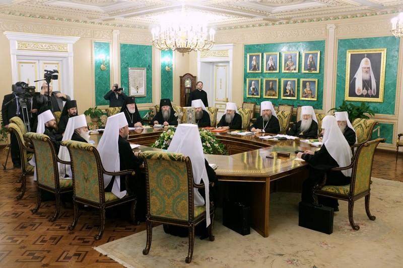 Înalt Prea Sfințitul Mitropolit Vladimir participă la lucrările Sfântului Sinod al Bisericii Ortodoxe Ruse