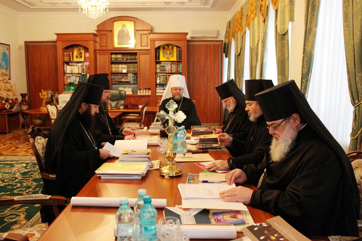 Va avea loc ședința Sinodului Bisericii Ortodoxe din Moldova